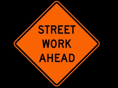 Street Work Ahead